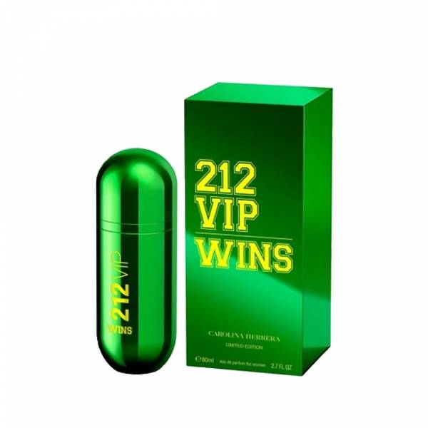 Carolina Herrera CH 212 VIP WINS 綠色奇蹟 限量版 女性淡香精 80ml Carolina Herrera ,CH 212 VIP WINS ,綠色奇蹟 ,限量版 女性淡香精