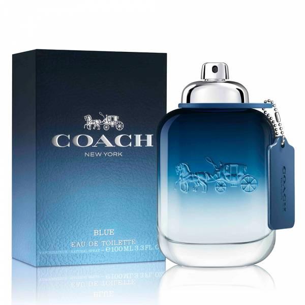 Coach BLUE時尚藍調男性淡香水100ml Coach,BLUE,時尚,藍調,時尚藍調,男性,淡香水,男香