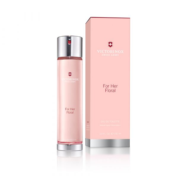 VICTORINOX SWISS ARMY 瑞士刀 EAU FLORALE For Her 水漾年華 女性淡香水 100ml Victorinox Swiss Army,水漾年華,香水,ForHer