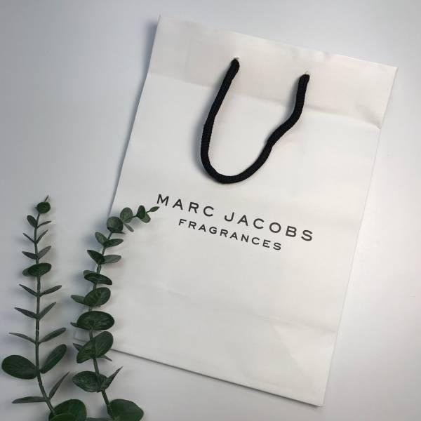 MARC JACOBS 精美白色紙袋 MARC JACOBS,精美紙袋,香水,男香