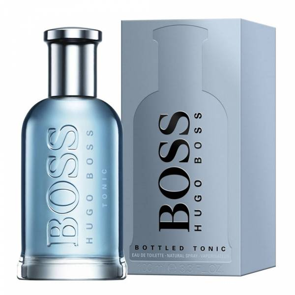 BOSS HUGO Bottled Tonic 勁藍自信男性淡香水100ml BOSS香水 ,BOSS勁藍自信,BOSS男香