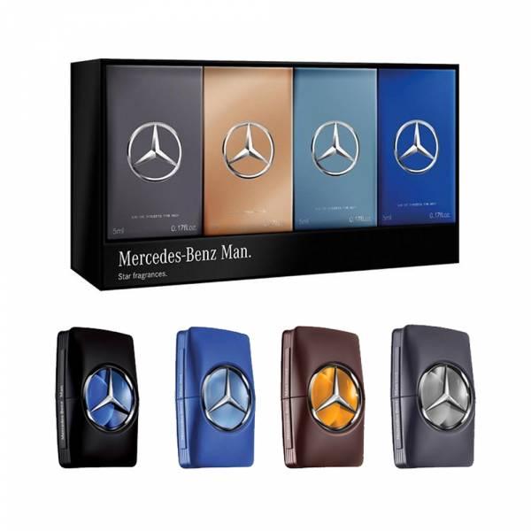Mercedes Benz 賓士 男性淡香水禮盒 4x5ml Mercedes Benz ,賓士 ,男性淡香水禮盒, 小香禮盒,賓士香水,