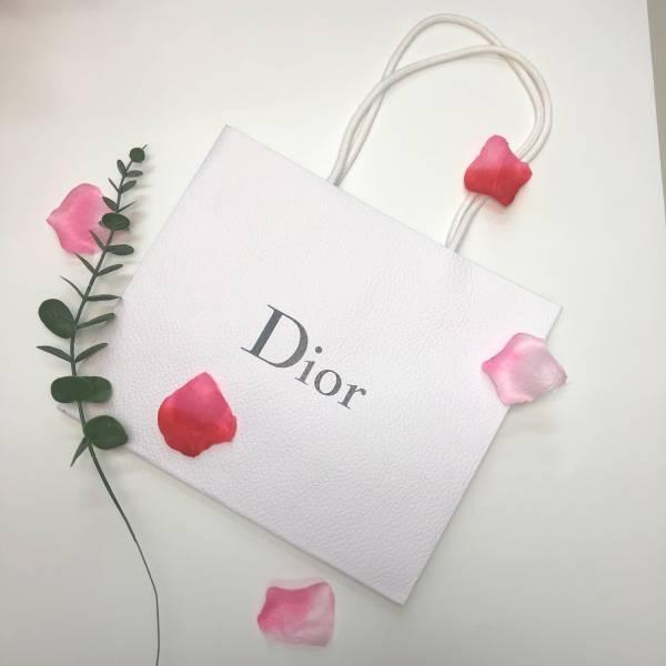 DIOR 迪奧 精美白色紙袋(大) DIOR ,精美紙袋,香水,男香