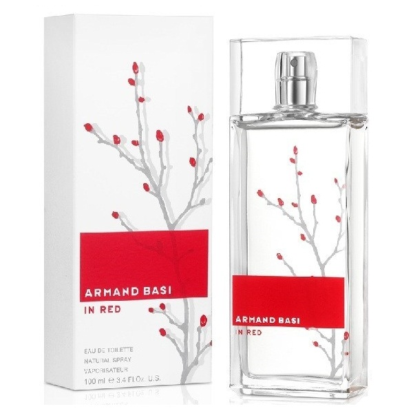 ARMAND BASI IN RED 紅玉銀柳女性淡香水100ML ARMAND BASI In Red 紅玉銀柳女性淡香精