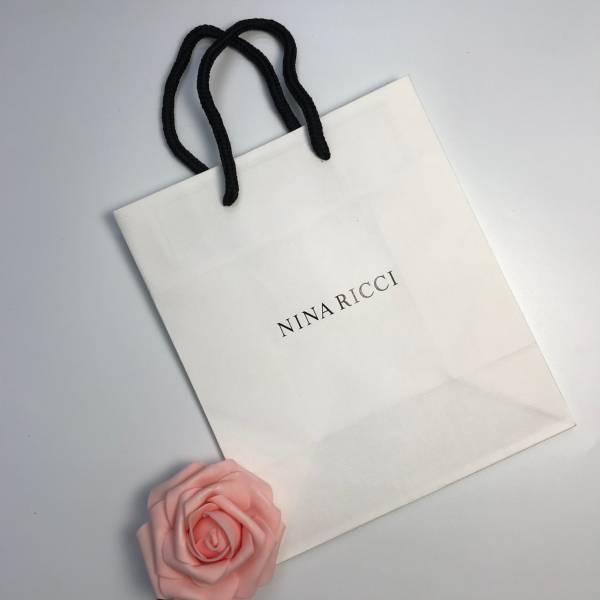 NINA RICCI 精美白色紙袋 NINA RICCI ,精美紙袋,香水