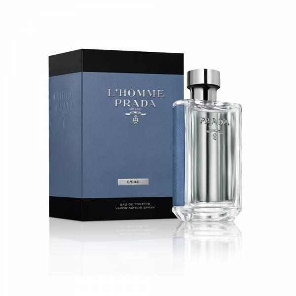 PRADA L'HOMME蔚藍紳士男性淡香水 100ml PRADA ,L'HOMME,蔚藍紳士,男性,淡香水