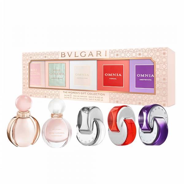 BVLGARI 寶格麗 女性香水 小香禮盒 5mlx5 BVLGARI, 寶格麗,小香禮盒,小香,女香,玫瑰金漾,歡沁玫香,晶澈,晶艷,紫水晶