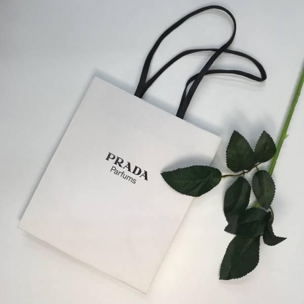 PRADA 精美白色紙袋 PRADA ,精美紙袋,香水,男香