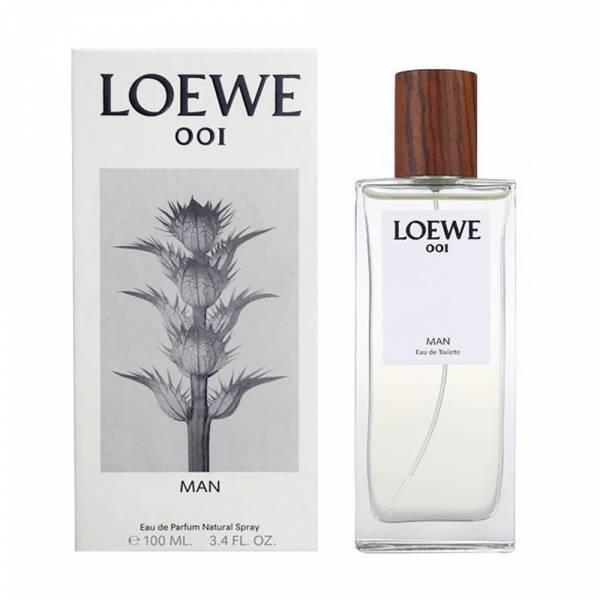 LOEWE 001 MAN 事後清晨男性淡香水 100ml LOEWE,001 MAN,事後清晨,淡香水,男香