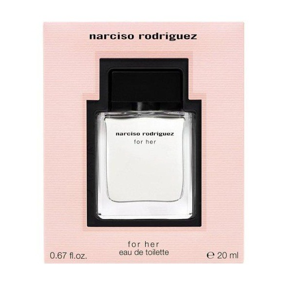 Narciso rodriguez for her 淡香水 20ml narciso rodriguez,for her,淡香水