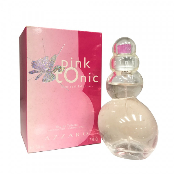 AZZARO Pink Tonic粉紅泡泡女性淡香水50ml AZZARO,MADEMOISELLE,浪漫,女香,淡香水,