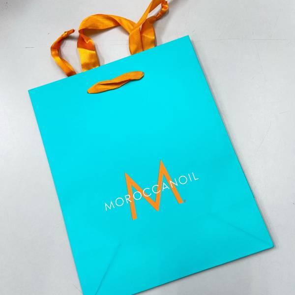 摩洛哥優油 精美紙袋 摩洛哥優油