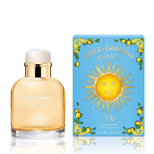 D&G Light Blue Sun Men 陽光夏日男性淡香水75ml(送針管) D&G ,Light Blue Sun Men ,陽光夏日,男性淡香水75ml