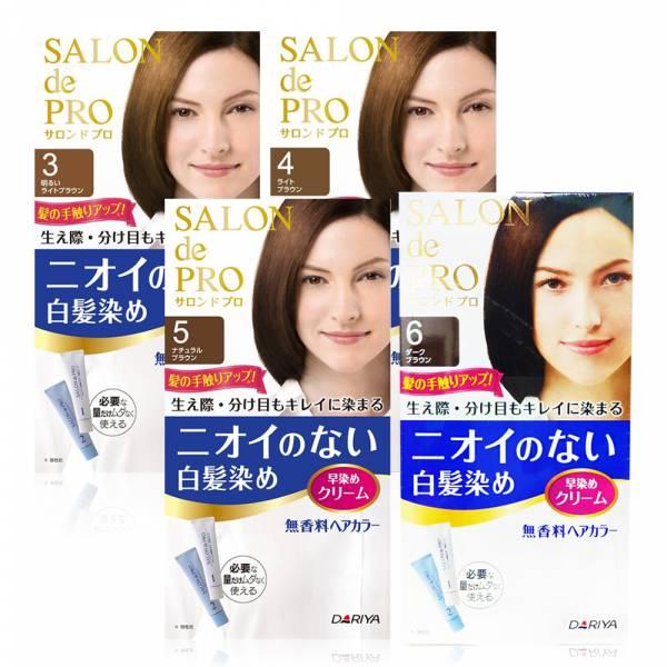 日本 DARIYA塔莉雅 沙龍級無味型白髮染髮劑 (多色任選)  DARIYA塔莉雅, 白髮染髮劑, 染髮劑, 塔莉雅染髮劑, DARIYA白髮染髮