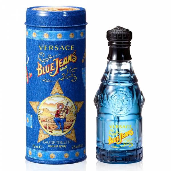 Versace 凡賽斯 Blue Jeans 藍可樂中性淡香水75ml Versace Blue Jeans 藍可樂女性淡香水