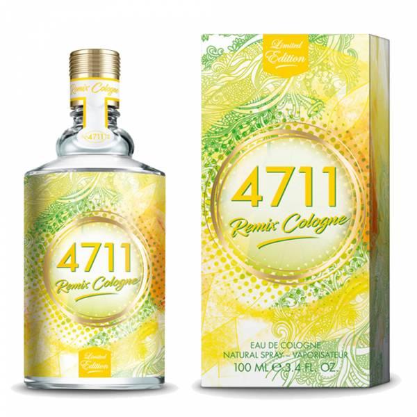 4711 科隆之水 Remix Cologne Zitrone 夏日沁檸古龍水100ml 4711,科隆之水,Remix Cologne,Zitrone,夏日沁檸,古龍水,100ml