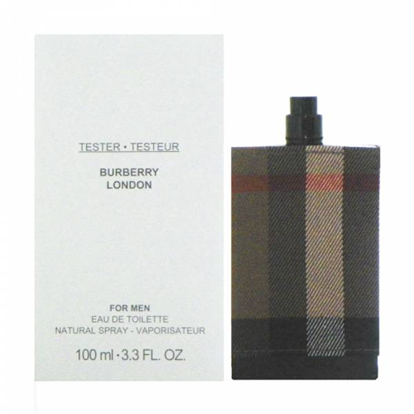 Burberry London 倫敦男性淡香水100ml TESTER(環保盒無蓋版) BVLGARI、寶格麗、玫瑰金漾、淡香精