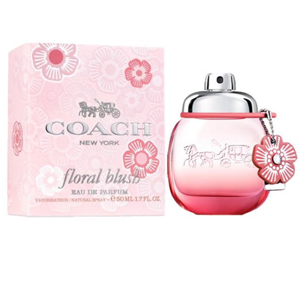 Coach New York FLORAL BLUSH嫣紅芙洛麗女性淡香精50ml Coach New York FLORAL嫣紅芙洛麗女性淡香精90ml