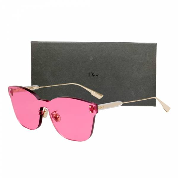 DIOR 粉色鏡片無框太陽眼鏡 DIOR 粉色鏡片無框太陽眼鏡