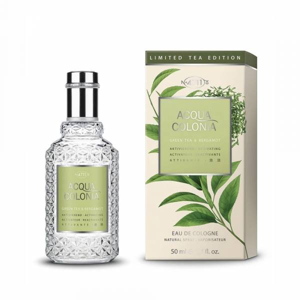4711 green tea bergamot 綠茶&佛手柑 古龍水 50ml 4711 ,goji & cactus extract, 枸杞&仙人掌, 古龍水