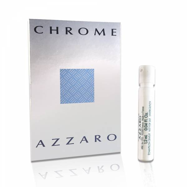 Azzaro Chrome 海洋鉻元素男性淡香水 針管1.2ml Azzaro Chrome 海洋,鉻元素,男香,針管