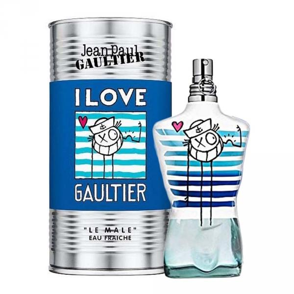 Jean Paul Gaultier 高堤耶 I LOVE GAUTIER 我愛高提耶 男性淡香水 125ml Jean Paul Gaultier 高堤耶 I LOVE GAUTIER 我愛高提耶 男性淡香水 125ml