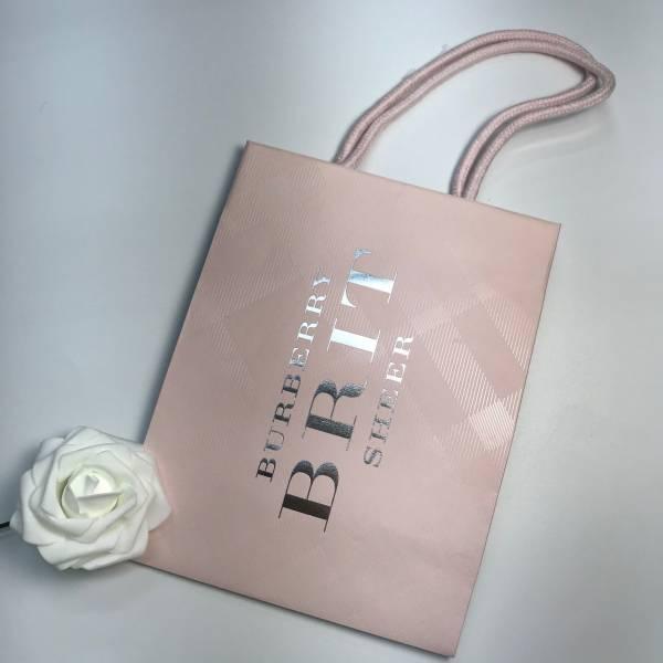BURBERRY 粉紅風格 精美紙袋 BURBERRY,精美紙袋,香水,女香