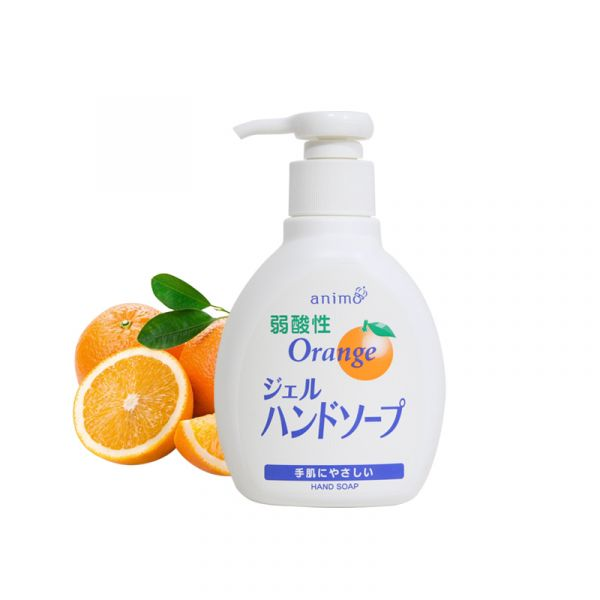 animo 柑橘弱酸性洗手液 200ml animo ,柑橘弱酸性洗手液, 200ml