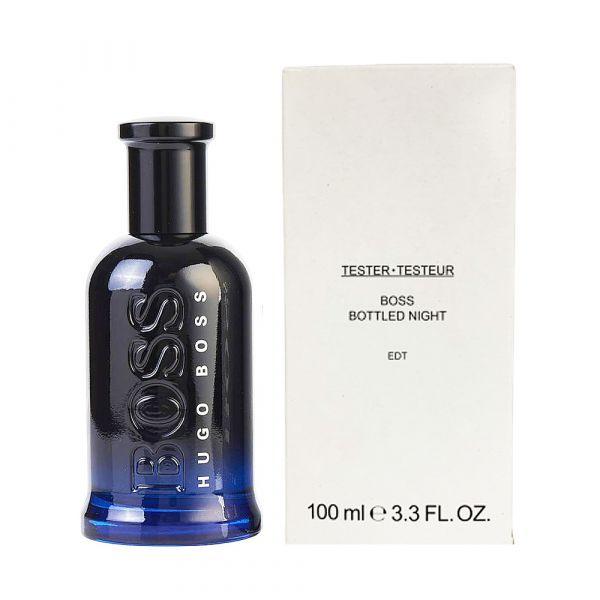 BOSS Bottled Night 自信之夜(夜自信)男性淡香水100ml(新包裝) TESTER (環保和有蓋版) BOSS香水 ,BOSS自信,BOSS男香