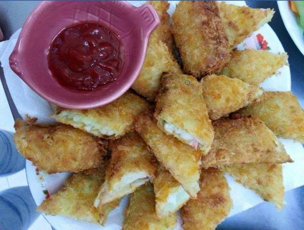 鮮蝦脆皮海鮮卷  每盒5條入/350g