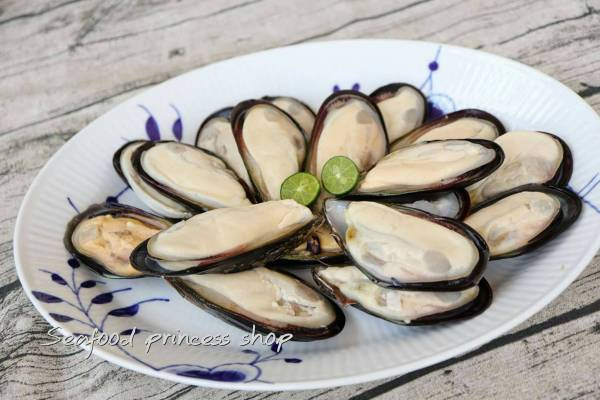 半殼淡菜  每包約20粒 ,600g