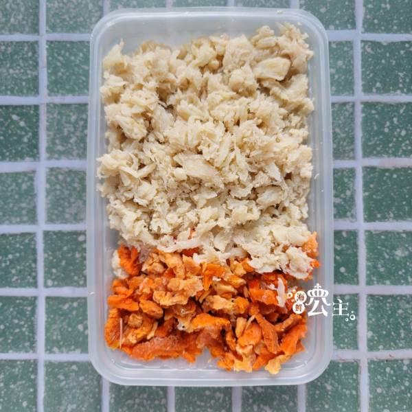 含卵熟蟹肉 (買一送一 )