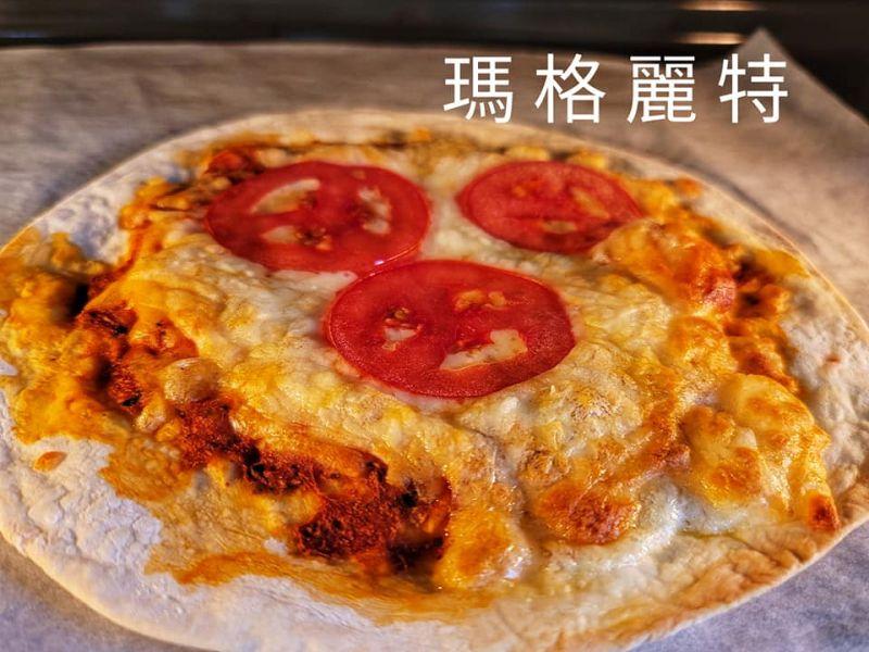 (布娜飛)瑪格麗特手桿薄皮披薩7吋