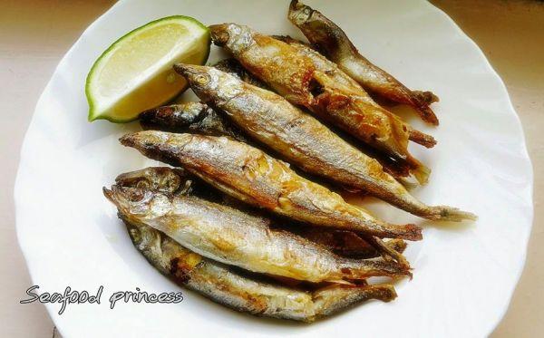 爆卵柳葉魚   500g 約30隻