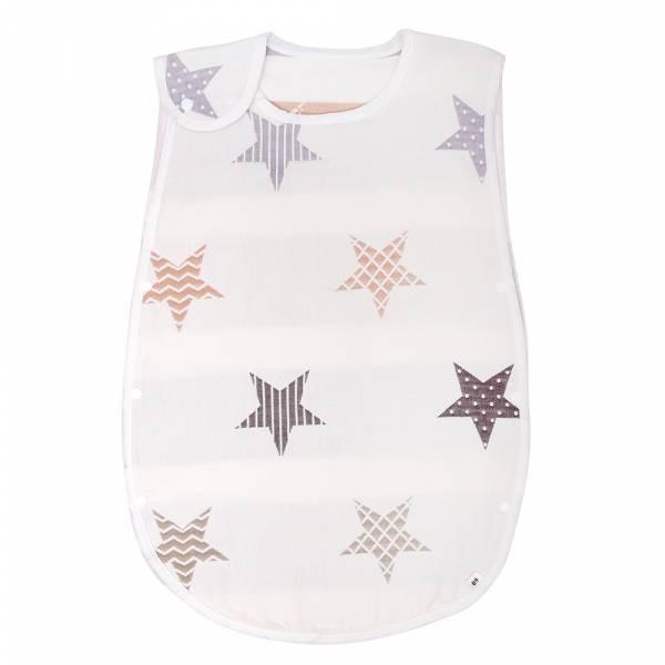有機棉防踢背心-LuckyStar 有機棉, 天然, 無毒 過敏 有機, 異位性皮膚炎, 新生兒, 嬰兒, 新生兒衣物, 嬰幼兒, 包屁衣, 竹纖維, 透氣, 汗疹