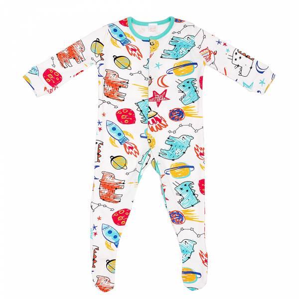 有機棉包腳連身衣-小宇宙 有機棉, 天然, 無毒 過敏 有機, 異位性皮膚炎, 新生兒, 嬰兒, 新生兒衣物, 嬰幼兒, 包屁衣, 竹纖維, 透氣, 汗疹