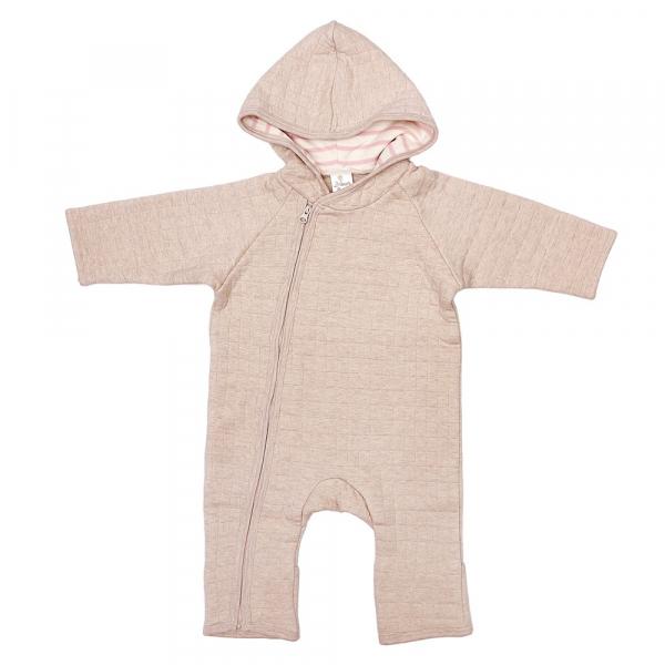 原色有機棉連帽厚棉連身衣 有機棉, 天然, 無毒 過敏 有機, 異位性皮膚炎, 新生兒, 嬰兒, 新生兒衣物, 嬰幼兒, 包屁衣, 竹纖維, 透氣, 汗疹,
