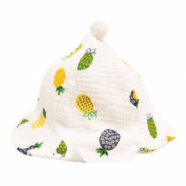 有機棉印花花瓣帽 有機棉, 天然, 無毒 過敏 有機, 異位性皮膚炎, 新生兒, 嬰兒, 新生兒衣物, 嬰幼兒, 包屁衣, 竹纖維, 透氣, 汗疹
