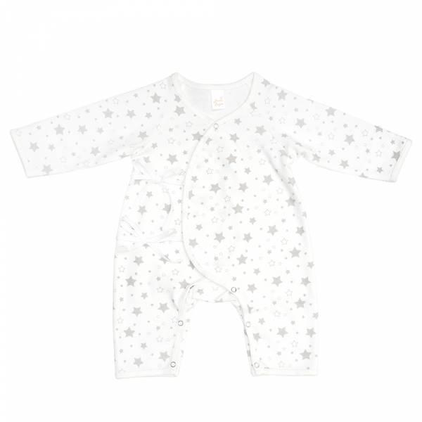 新生兒有機棉和尚服-滿天星 有機棉, 天然, 無毒 過敏 有機, 異位性皮膚炎, 新生兒, 嬰兒, 新生兒衣物, 嬰幼兒, 包屁衣, 竹纖維, 透氣, 汗疹