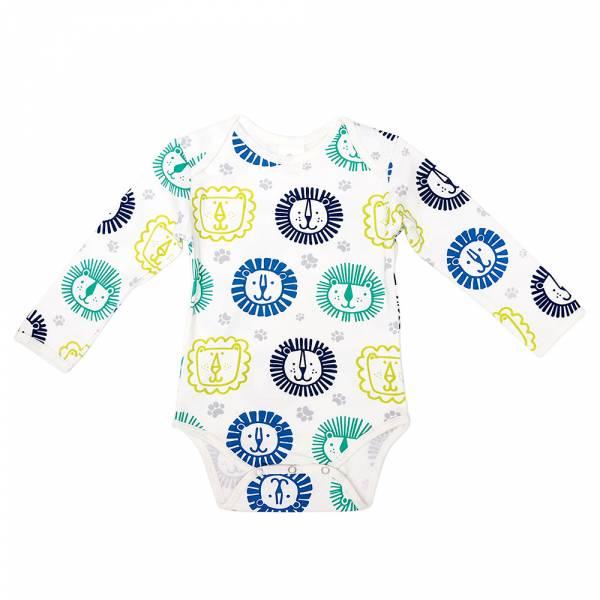 有機棉長袖包屁衣-獅子王 有機棉, 天然, 無毒 過敏 有機, 異位性皮膚炎, 新生兒, 嬰兒, 新生兒衣物, 嬰幼兒, 包屁衣, 竹纖維, 透氣, 汗疹