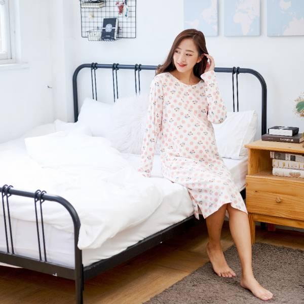 孕媽咪有機棉哺乳洋裝-圓點熊 加拿大有機棉和竹纖維第一童裝品牌,通過國際最高標準有機認證「GOTS」和「OCIA」。100%透氣無毒,對於受濕疹、異位性(過敏性)皮膚炎、呼吸道問題、換季不適等困擾的嬰幼兒最安心