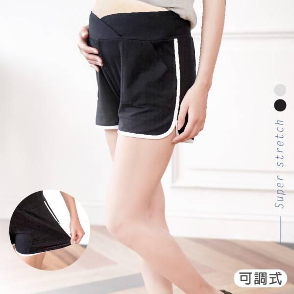 孕媽咪有機棉潮流運動短褲(黑) M~XL 加拿大有機棉和竹纖維第一童裝品牌,通過國際最高標準有機認證「GOTS」和「OCIA」。100%透氣無毒,對於受濕疹、異位性(過敏性)皮膚炎、呼吸道問題、換季不適等困擾的嬰幼兒最安心