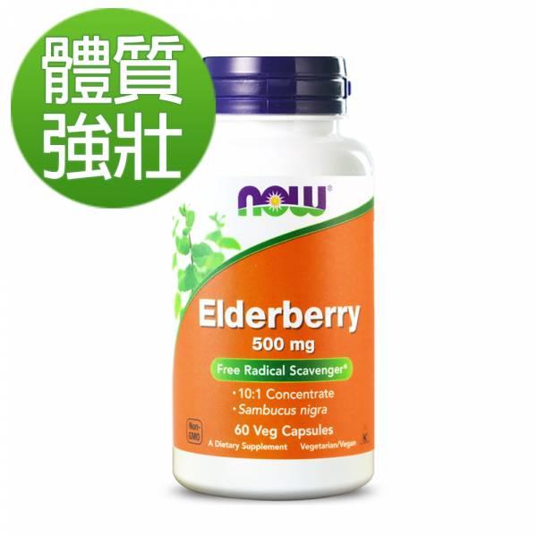 6折-NOW健而婷 接骨木果植物膠囊(60顆/瓶)【體質強壯】 魚油,omega3,DHA,EPA