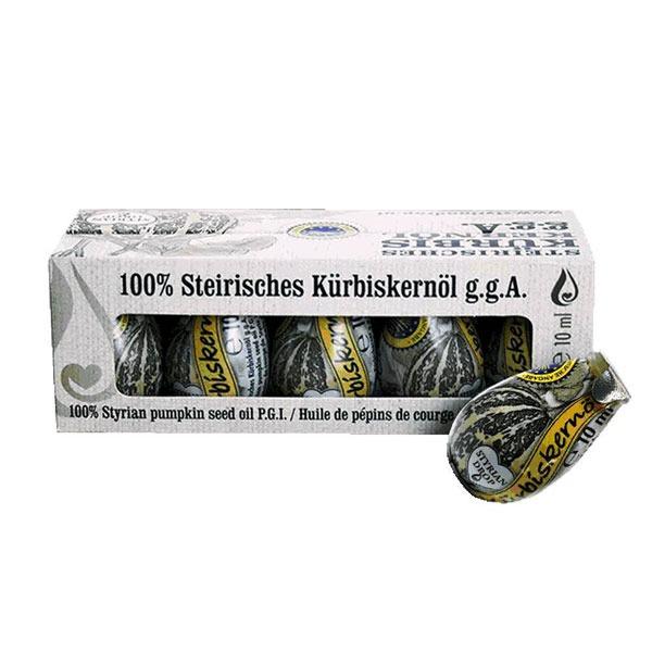 奧地利金牌純南瓜籽油/ 10ml*10球 南瓜籽油,奧地利南瓜籽油