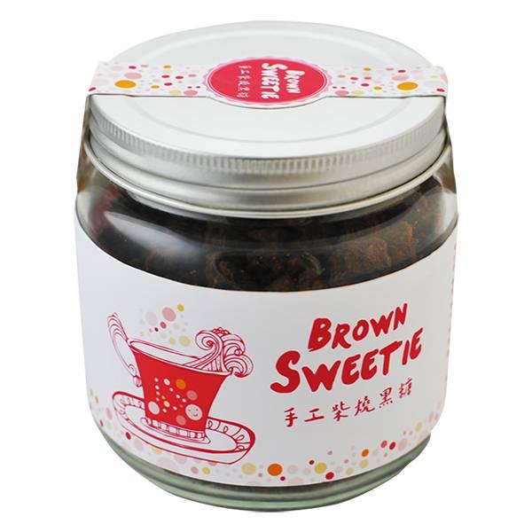 手工柴燒黑糖 精緻罐裝/280g 黑糖,手工柴燒黑糖,台灣黑糖,天然黑糖,老薑黑糖,結晶黑糖