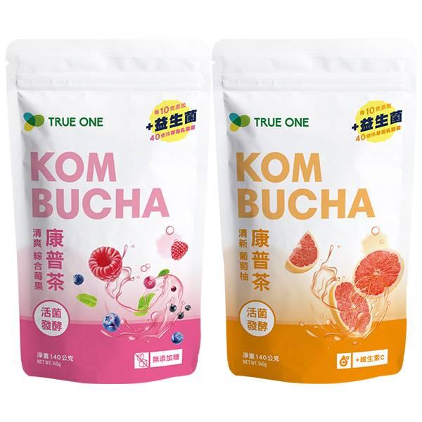 活菌發酵康普茶 140公克/袋-綜合組 康普茶,益生菌,kombucha