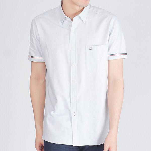 100%埃及棉商務襯衫(男)-共2色
