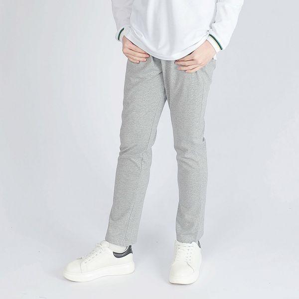 機能休閒棉褲(男)-麻花灰