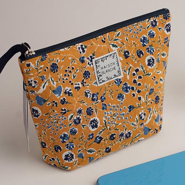 扁平化妝袋(日本製)共2色