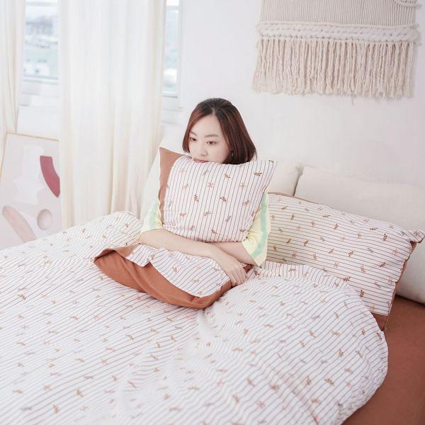 【床包】UMORFIL膠原蛋白針織寢具-焦糖咖 女襪,台灣設計,台灣製造,文青,短襪,文創設計,刺蝟,膠原蛋白,居家良品,寢具,枕套